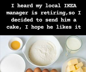 ikea manager is retiring