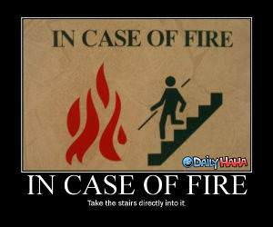 In Case of the Fire Sign