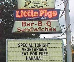 Little Pigs BBQ funny picture