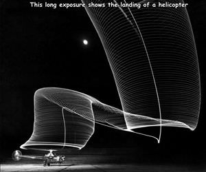 long exposure helicopter