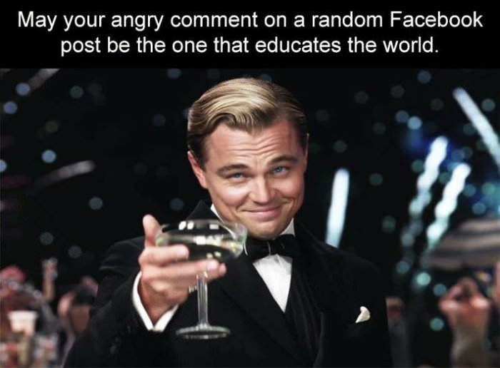 may your random comment