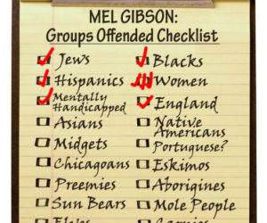 Mel Ginsons List funny picture