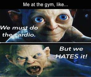 must do the cardio