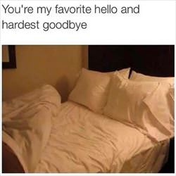 my hardest goodbye