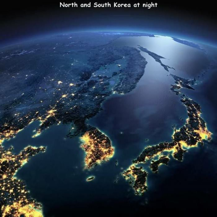north and south korea ... 2