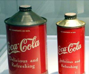 old coca cola cans