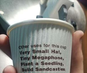 other uses for this cup