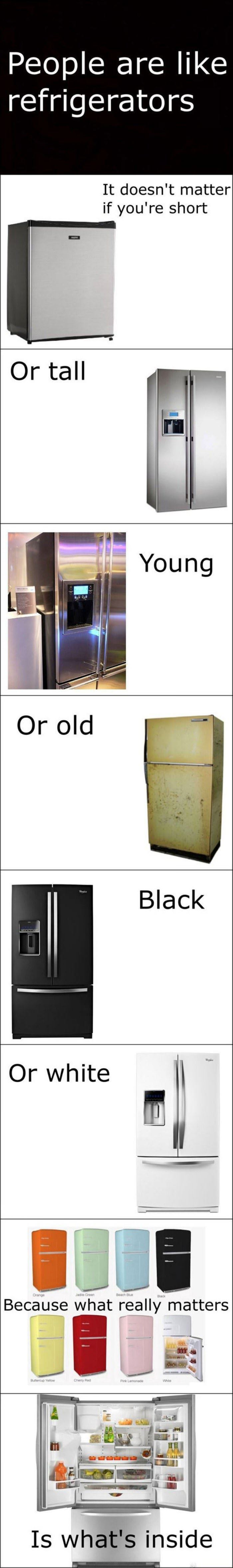people are like refrigerators funny picture