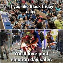 post election sales