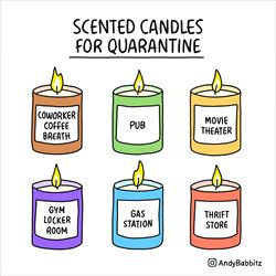 quarantine scents