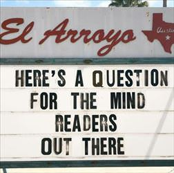 question for the mind readers