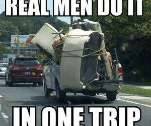 Real Men funny picture