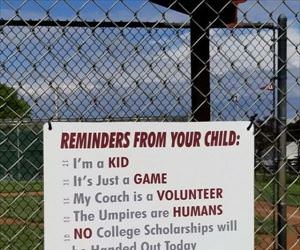 reminder for parents