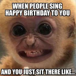 sing happy birthday to me