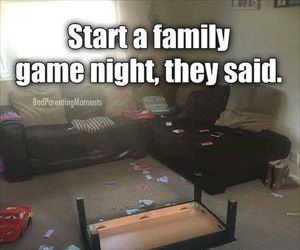 start a family game night