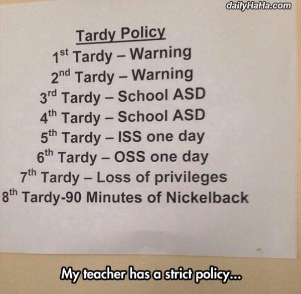 strict policy funny picture