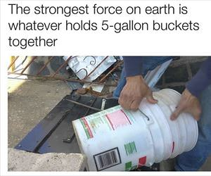 strongest force on earth