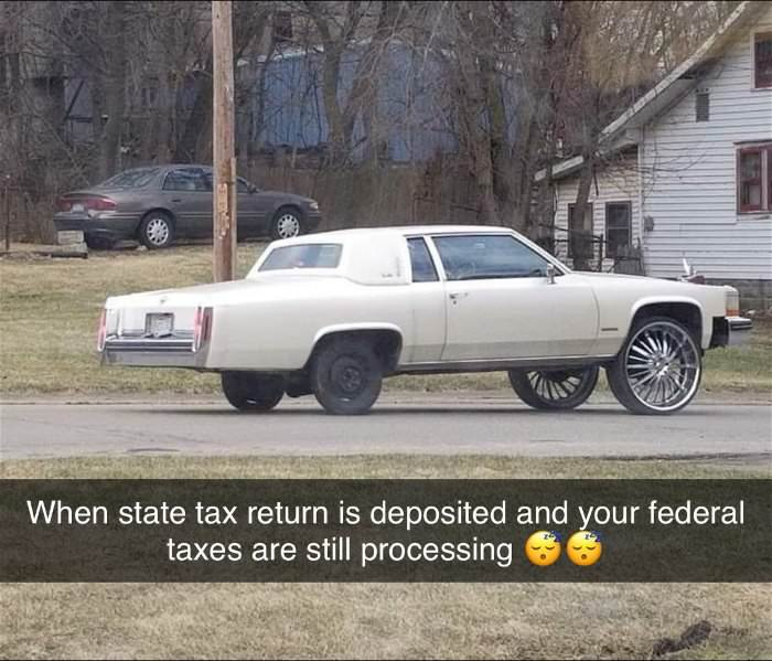 tax returns are half way