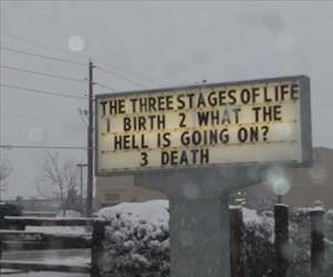 the 3 stages of life