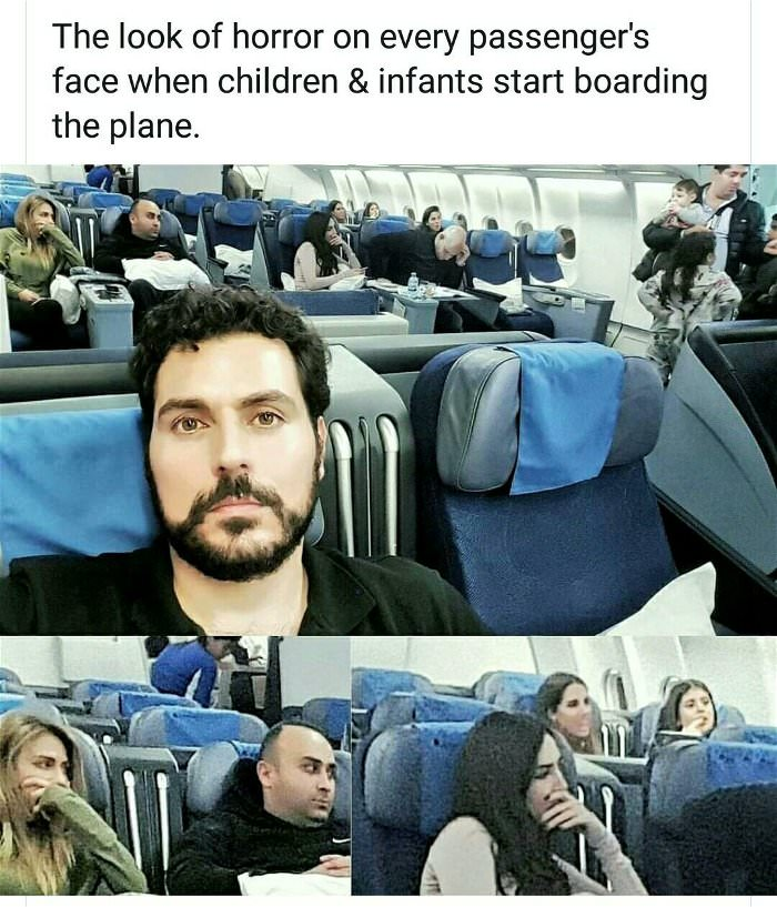 the look of horror