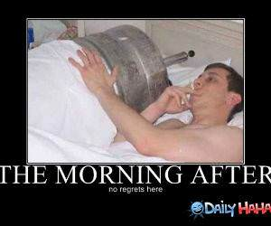 The Morning After funny picture