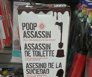 the poop assassin