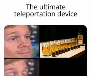 the ultimate teleportation device