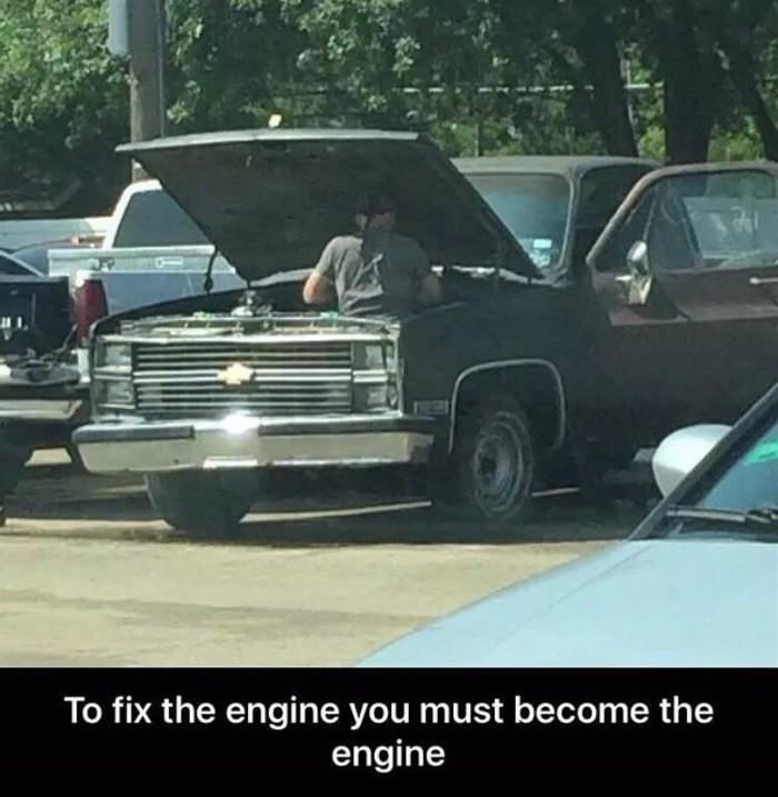 to fix the engine