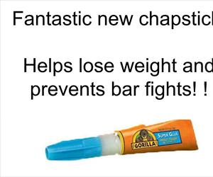 weight loss chapstick