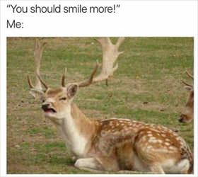 you should smile more ... 2