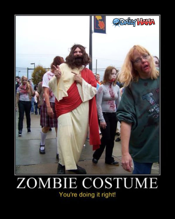Zombie Costume funny picture