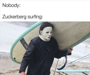 zuckerberg surfing