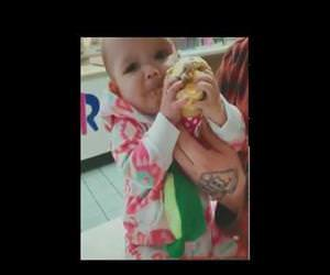 Babys first taste of ice cream Funny Video