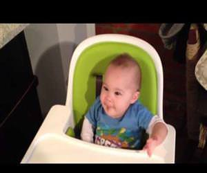 Babys first time eating chocolate Funny Video