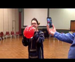 Helium Opera Singing Funny Video