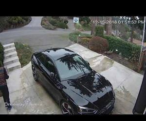 Package thief caught by cool neighbor Funny Video