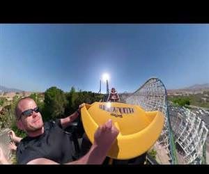 Stabilized GoPro RollerCoaster Ride Funny Video