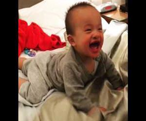 a very hilarious laughing baby Funny Video