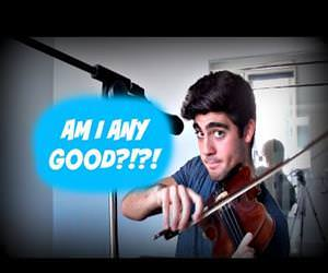 beatboxing and violin Funny Video