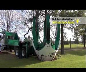 full sized tree relocator Funny Video