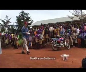 kids in africa seeing a drone for the first time Funny Video