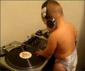 Little Baby DJ Funny Video