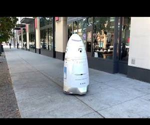 security robot in san francisco Funny Video