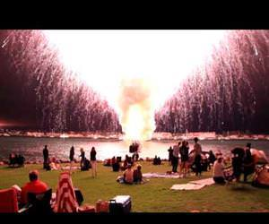 shortest fireworks show Funny Video
