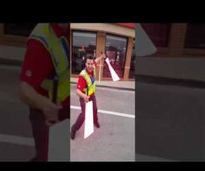 sith lord parking lot attendant Funny Video