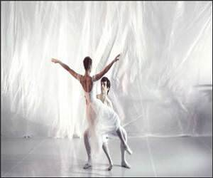 Slow motion Ballet Video